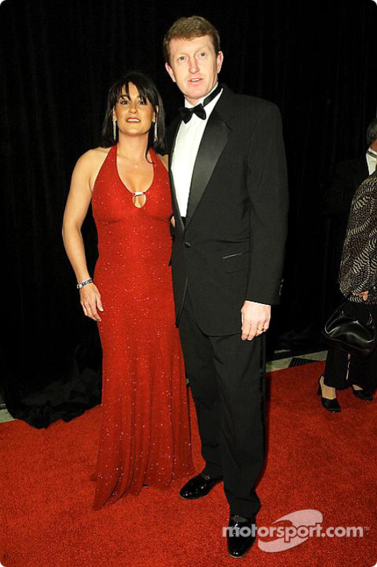 Bill Elliott with wife Cindy