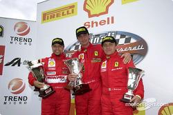 Ferrari 360 Challenge Pirelli Trophy, race 2 - The podium