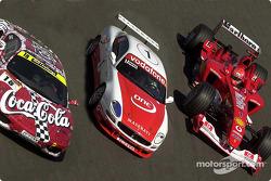 The Scuderia Ferrari Marlboro at the World Finals