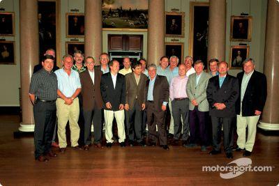 Brabham-BMW 1983 championship team reunion