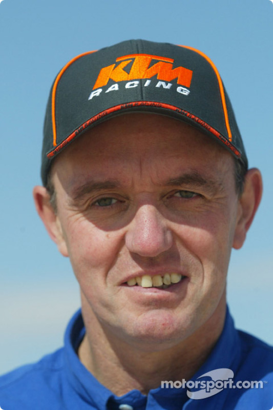 Présentation KTM : Le team manager Gilles Salvador