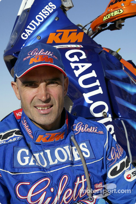 Présentation KTM : Fabrizio Meoni