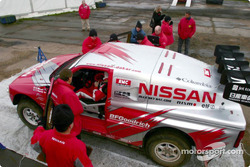 Colin McRae gets ready