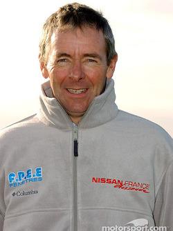 Présentation de l'équipe Nissan Dessoude : Philippe Wambergue