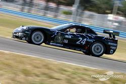 La Corvette n°24 de l'équipe Specter Werks/Sports, pilotée par John Heinricy, Jeff Nowicki et Tom Bambard
