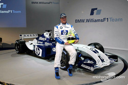 Ralf Schumacher with the new WilliamsF1 BMW FW26