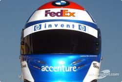 Marc Gene's helmet