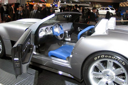 Interior of the Ford Cobra Concept