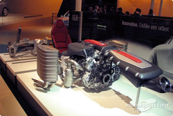 La transmission de la Mercedes-Benz SLR