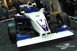 Un châssis de Formule BMW UK