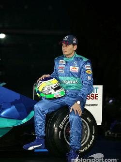 Giancarlo Fisichella with the new Sauber Petronas C23