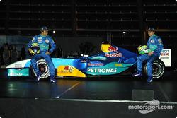 Felipe Massa and Giancarlo Fisichella