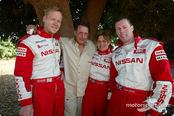 Ari Vatanen, Tina Thorner and Colin McRae