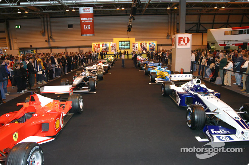F1 Racing Grid At Autosport International At Autosport International