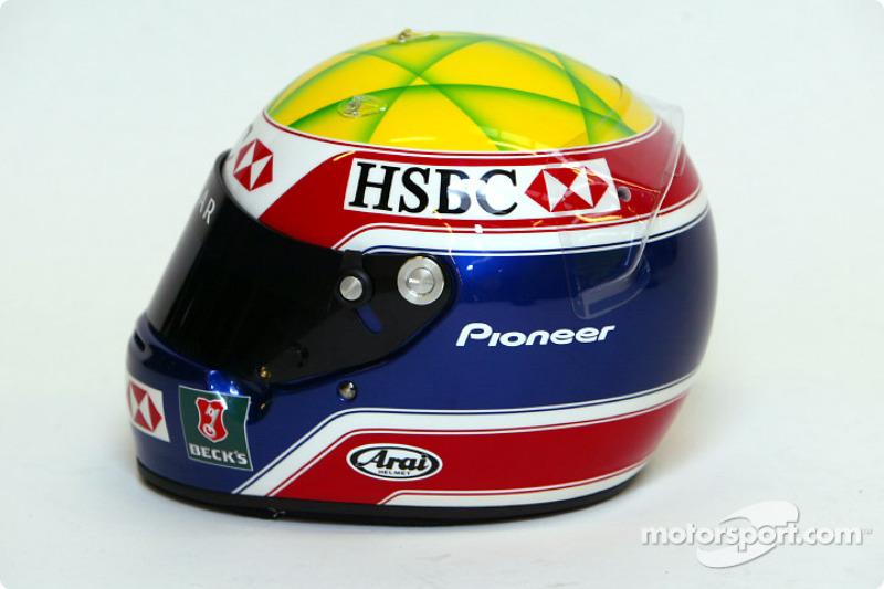 Mark Webber'in, kask
