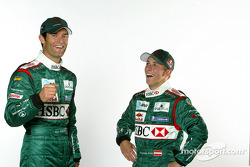 Mark Webber et Christian Klien