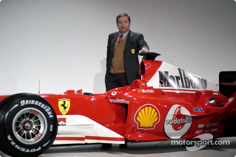 Жан Тодт і Ferrari F2004