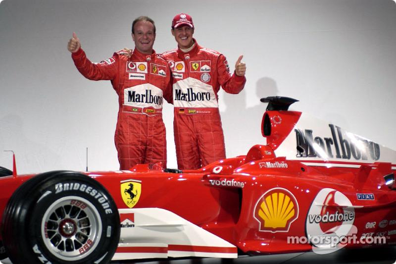 Рубенс Баррікелло, Міхаель Шумахер і Ferrari F2004