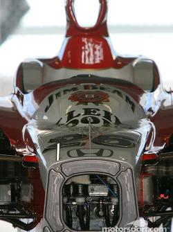 Andretti Green Racing Dan Wheldon's car