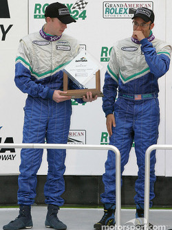 GS podium: second place Mark Plummer and Guy Cosmo