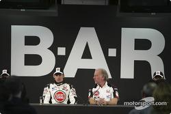 Jenson Button et David Richards