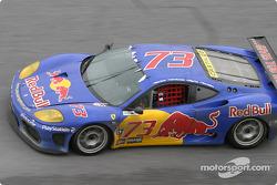 #73 BE Racing Ferrari 360 Modena: Klaus Engelhorn, Dieter Quester, Philipp Peter, Andrea Montermini