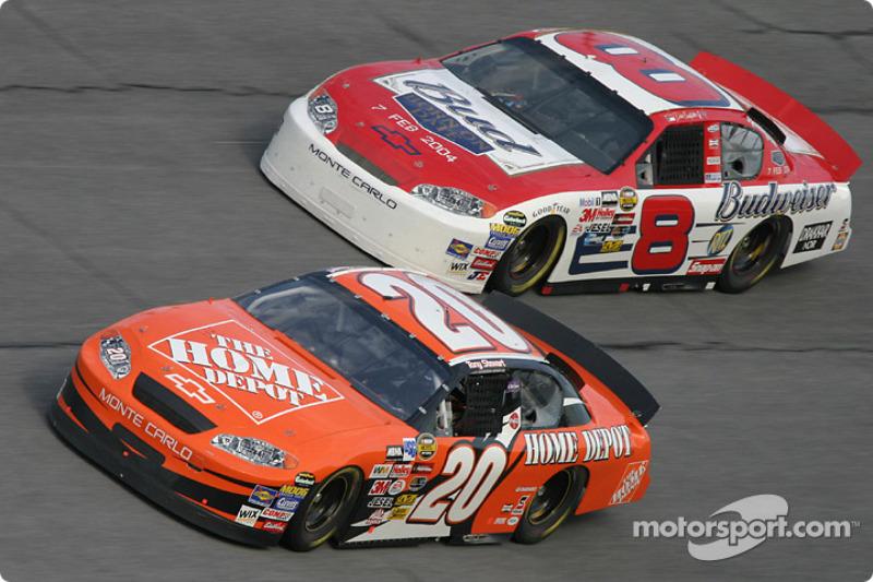 Tony Stewart und Dale Earnhardt Jr.