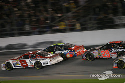Dale Earnhardt Jr., Jeff Gordon and Kevin Harvick