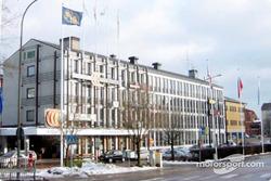 Swedish Rally headquarters in Karlstad