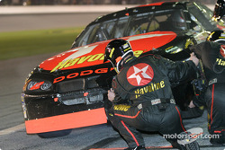 Jamie McMurray in the pit