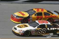 Dale Jarrett and Brendan Gaughan