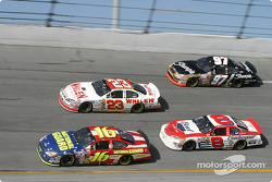 Greg Biffle, Dave Blaney, Dale Earnhardt Jr. and Kurt Busch