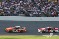 Tony Stewart and Dale Earnhardt Jr.