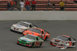 Bobby Labonte, Jimmy Spencer, Robby Gordon and Kevin Harvick