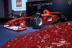 La Ferrari F1 en Lego