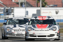La Porsche GT3 Cup n°17 du AASCO Motorsports (Mark Webber, Joe Kunz, Gary Becker, Patrick Flanagan, Derek Clark)
