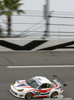 La Porsche GT3 RS n°97 du Graham Nash Motorsport (Robert Orcutt, Ken Dobson, Kurt Teal, Paul Jenkins)
