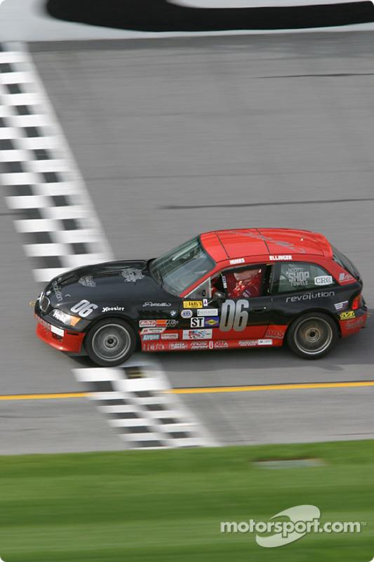 La BMW Z3 n°06 du ICY / SL Motorsports (Alan Himes, Rick Ellinger)