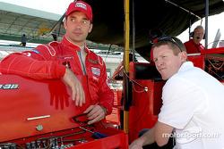 Max Papis and Scott Dixon