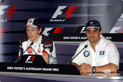Thursday press conference: Jenson Button and Juan Pablo Montoya