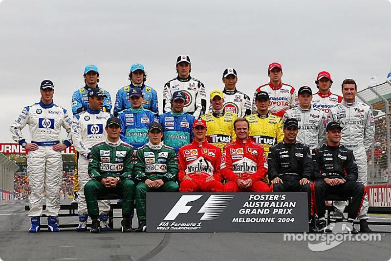2004 Formula 1 sezonu pilotları
