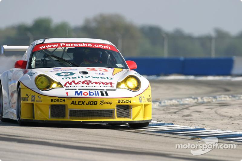 #23 Alex Job Racing Porsche 911 GT3RSR: Sascha Maassen, Jorg Bergmeister, Timo Bernhard