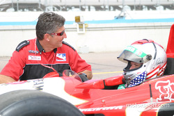 Indy Racing two-seater experience: Michael Andretti