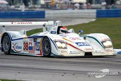 #38 Team ADT Champion Racing Audi R8: JJ Lehto, Emanuele Pirro, Marco Werner