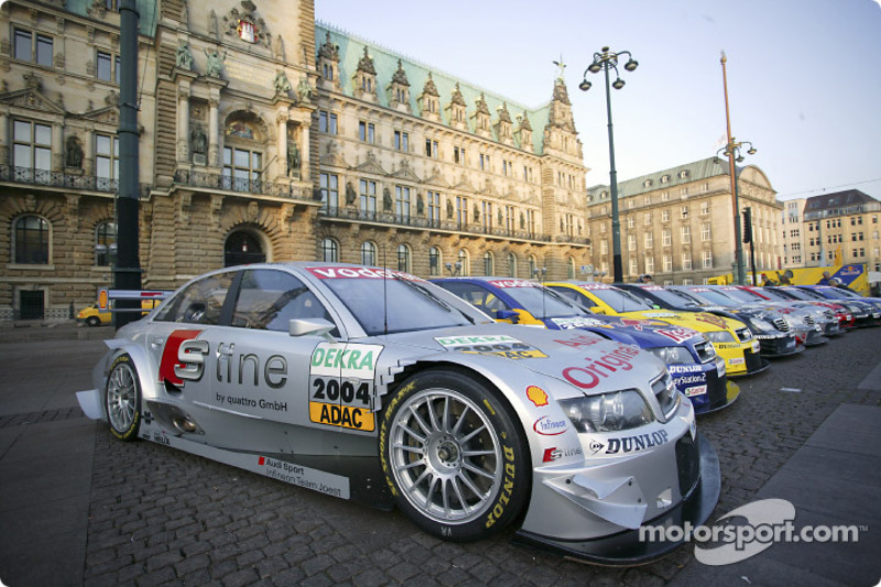 The 2004 DTM cars