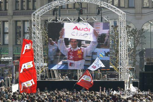 Presentación del DTM 2004 presentación, Hamburgo