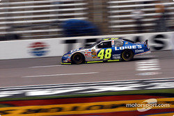Jimmie Johnson on track