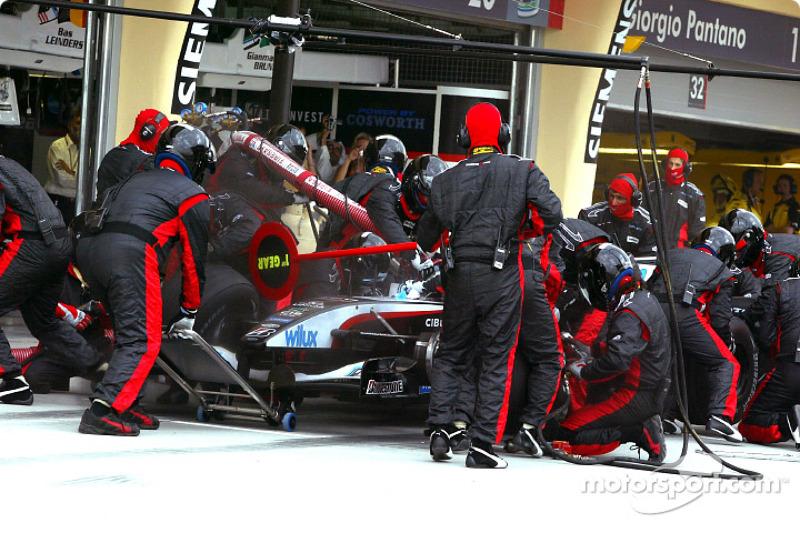 Boxenstopp: Gianmaria Bruni, Minardi PS04B