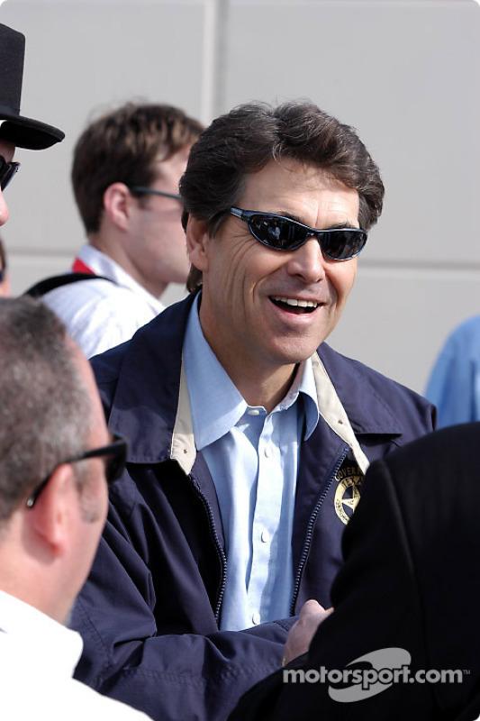 Le Gouverneur du Texas Rick Perry