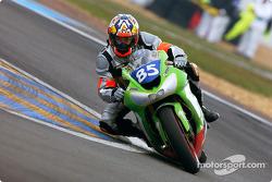 #85 Ardouin Motos Kawasaki ZX10: Renaud Moisan, Sébastien Diss, Bernard Cuzin